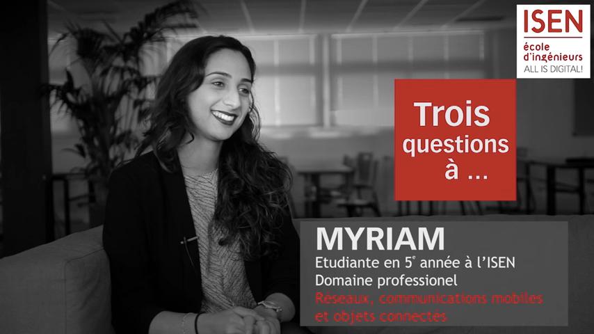 étudiante, domaine professionnel, communications mobiles, réseaux, objets connectés, ISEN Brest
