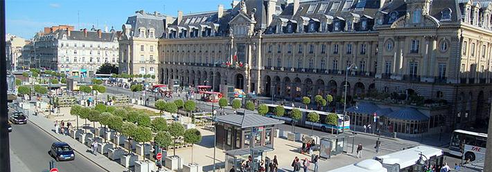 Bretagne, Rennes, place de la République