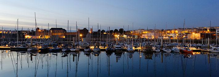 Marina port du Château, Brest ville maritime par excellence