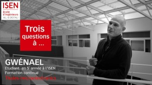 Etudiant formation continue Thales