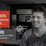 étudiant, année 5, ISEN Brest, ingénieur, robotique mobile, domaines professionnels, Ouest
